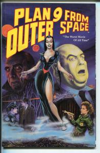 PLAN 9 FROM OUTER SPACE #1-MALIBU-1991-CULT CLASSIC-SCI-FI-1950'S-vf