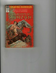 3 Books The Beasts of Tarzan Trail of the Macaw Case No. 561 Dragnet Drama JK26