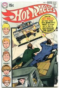 HOT WHEELS-#3-1970-DC-ALEX TOTH-MATTEL-NEAL ADAMS COVER- vf