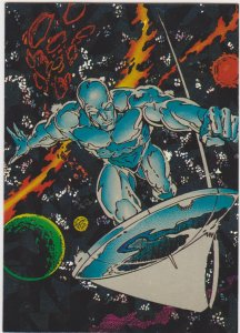 1991 Silver Surfer All-Prism Promo Card