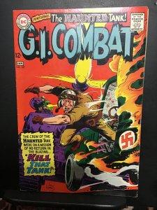 G.I. Combat #127 (1968) high-grade Joe Kubert Haunted Tank key! VF/NM Boca CERT!