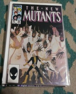 NEW MUTANTS  # 28 1985 MARVEL 2ND LEGION APP+XMEN