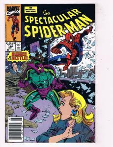 The Spectacular Spider-Man #164 NM Marvel Comics Comic Book May 1992 DE45
