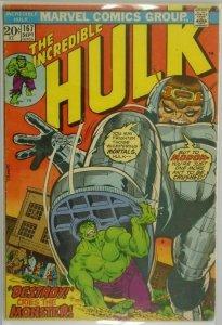 The Incredible Hulk #167 - 3.5 VG- - 1973