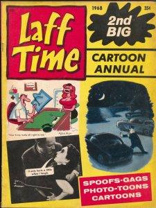 Laff Time #2 1968-Crestwood-George Wolfe-Don Orehek-Bill Wenzel-Pete Wyman-VG