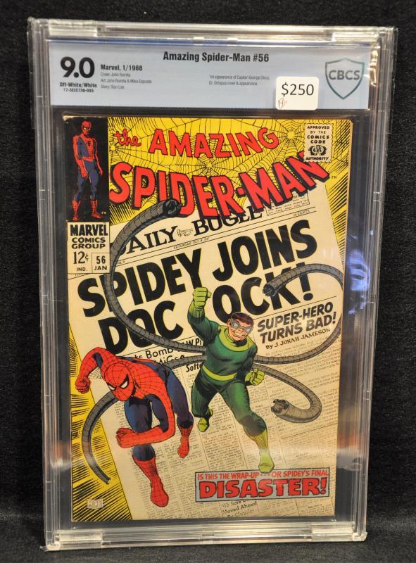 Amazing Spider-man #56 - CBCS 9.0