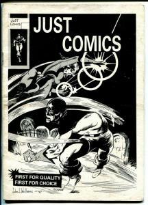 Just Comics Catalogue #29 1960's-British comic book dealers catalog-VG