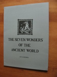 SEVEN WONDERS OF THE ANCIENT WORLD PORTFOLIO SIGNED ROY KRENKEL 1975