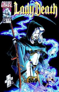 Lady Death IV: The Crucible #6 VF/NM; Chaos | save on shipping - details inside