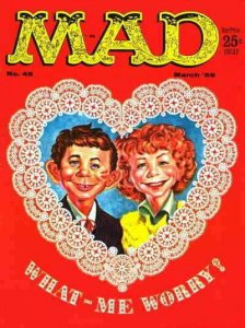 Mad #45 FAIR; E.C   low grade comic - save on shipping - details inside