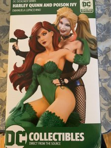 DC Collectibles Designer Series Harley Quinn and Poison Ivy Statue
