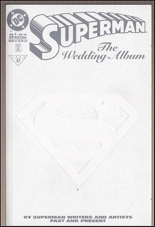 superman wedding album 1996 1 4 95 cvr hipcomic