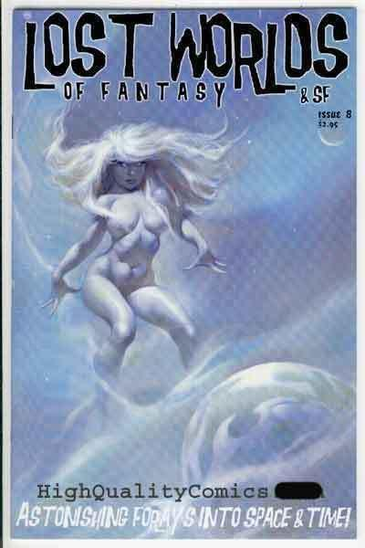 LOST WORLDS OF FANTASY & Sci-Fi #8, Mike Hoffman, NM+, more indies in store