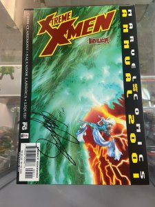 Xtreme X-Men Annual 2001 NM Signed by Chris Claremont