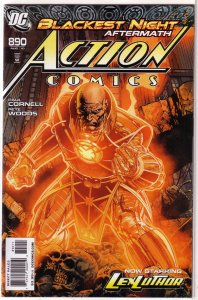 Action Comics   vol. 1   #890 VF/NM Lex Luthor (Black Ring 1/Blackest Night)