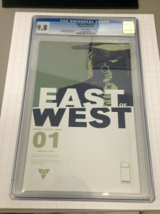 East of West 1 1st print CGC 9.8 In Development by Amazon