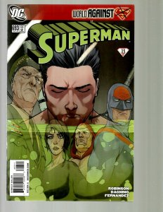 12  DC Superman Comics # 693 694 695 696 697 698 699 670 671 672 673 674 GK45