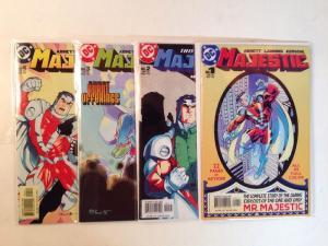 Majestic 1-4 Complete Near Mint Lot Set Run