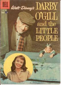 DARBY OGILL AND THE LITTLE PEOPLE (1959) F.C.1024 VG COMICS BOOK