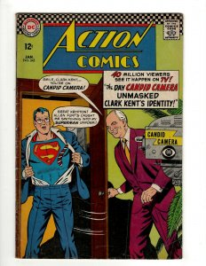 Action Comics # 345 FN DC Comic Book Superman Batman Green Lantern Flash KD1