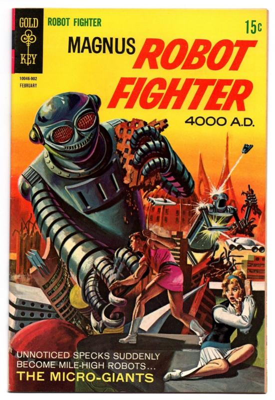 Magnus, Robot Fighter #25 (Feb 1969, Western Publishing) - Fine