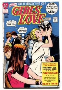 GIRLS' LOVE STORIES #165 comic book 1972-DC COMIC-TEARS/BETRAYAL