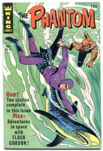 THE PHANTOM #19 1966-KING COMICS-SHARK COVER-FLASH-KANE FN/VF