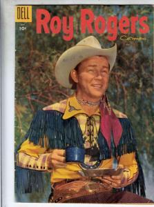 Roy Rogers Comics #91 () FN Mid-Grade Roy Rogers, Trigger