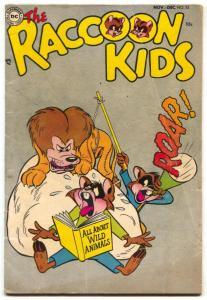 Raccoon Kids #53 1954- Sheldon Mayer- DC Funny Animals