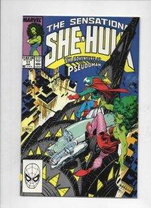 SHE-HULK #11 VF,  Sensational, Pseudoman, 1989 1990, more Marvel in store