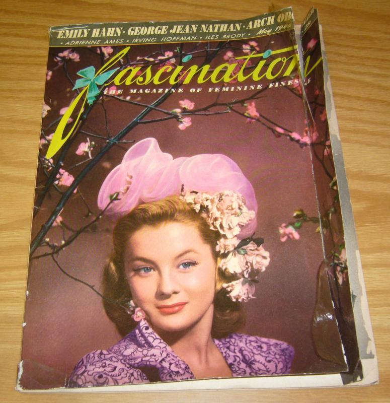 Fascination #4 magazine of feminie finesse - may 1945 - low grade
