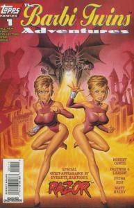 Barbi Twins Adventures, The #1 VF/NM; Topps | save on shipping - details inside