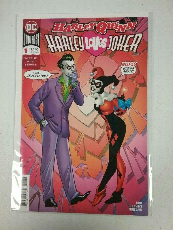 Harley Quinn : Harley Loves Joker  #1  DC NW32