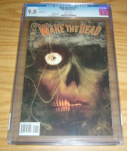 Wake the Dead #1 CGC 9.0 ben templesmith variant cover - steve niles - chee IDW