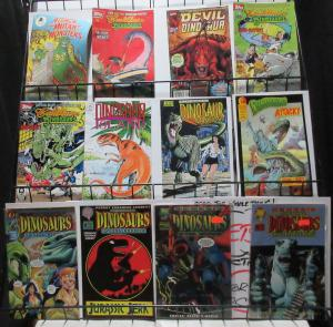 Dinosaurs Comic Sampler Lot 12Diff Cadillacs Devil for Hire! 20 years Dinosaurs