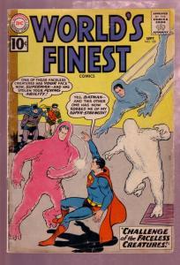 WORLD'S FINEST #120 1961- SUPERMAN- BATMAN-GREEN ARROW G/VG