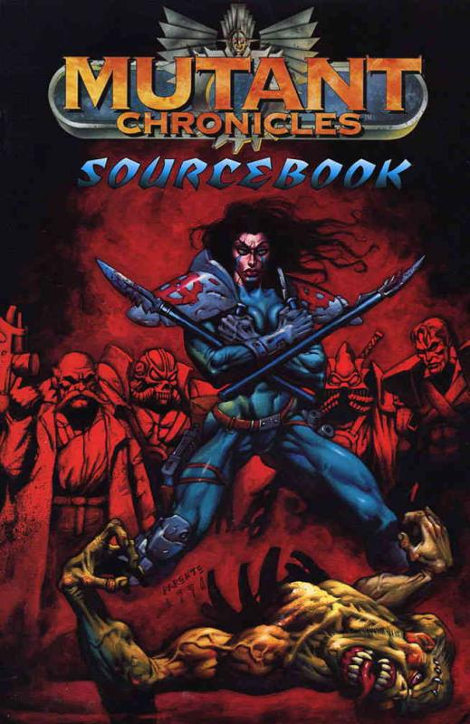 Mutant Chronicles Sourcebook #1 VF/NM Armada - save on shipping - details inside