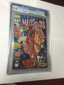Deadpool 1-4 1-69 1 Shots Annuals New Mutants 98 X-force Appearances All Cgc 9.8