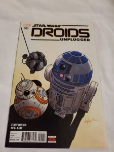 Star Wars Droids Unplugged 1 Near Mint Cover by Chris Eliopoulos