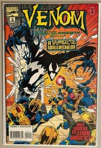 Venom a symbiote unleashed #2 8.0 VF (1995)