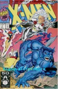 X-MEN #1, NM+, Storm Beast cv, 1991, unread copy, Wolverine, more in store