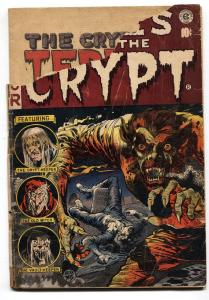 Tales From the Crypt #35 COMIC BOOK 1953- EC Horror Jack Davis Werewolf cover