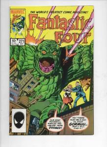 FANTASTIC FOUR #271 VF+ Gormuu Byrne 1961 1984 Marvel, more FF in store