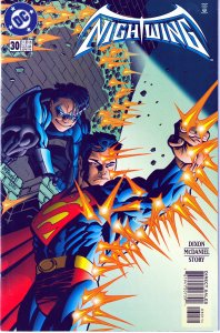 Nightwing(vol. 1)#30-31,33,35,36,37,42-43 Superman, 1st Double Dare,No Man Land