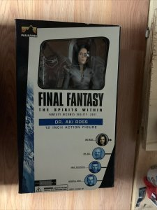 Final Fantasy The Spirit Within Fantasy Becomes Reality: 2001 Dr. Aki Ross