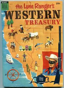 LONE RANGER'S WESTERN TREASURY #2 SILVER TONTO 1954 GIA VF/NM