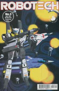 Robotech #3 VF; Antarctic | save on shipping - details inside