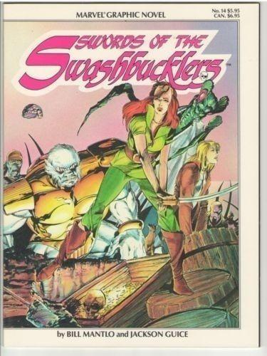 Marvel Graphic Novel 14 (Sword of the Swashbucklers) 1984 NM- (9.2)