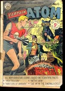 CAPTAIN ATOM #6-RARE SUPERHERO COMIC FINAL IS G