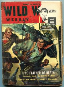 Wild West Weekly Pulp January 18 1941- Father of Death- Mart Connely